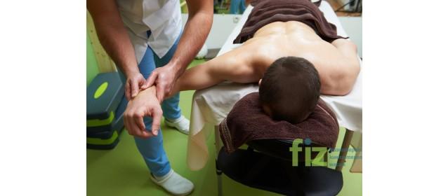 За спортните натури - специален масаж от FIZ.bg