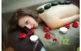 FIZ масажът с източен вкус хот стоун